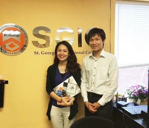 SGIC セント・ジョージ・インターナショナル・カレッジへ休学留学